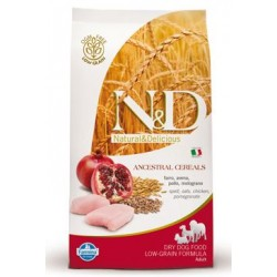 N&D Low Grain DOG Senior S/M Chicken & Pomegr