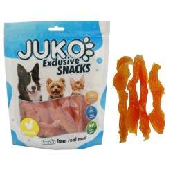 Snack SOFT Chicken Jerky made by hand 250g