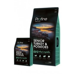 Profine NEW Dog Senior Turkey & Potatoes