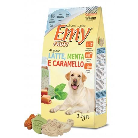 Emy Fruit LATTE,... mléko, máta, karamel