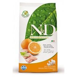 N&D Grain Free DOG Adult Maxi Fish & Orange