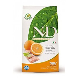 N&D Grain Free CAT Adult Fish & Orange