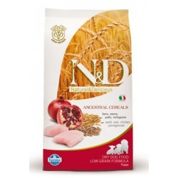 N&D Low Grain DOG Puppy Mini Chicken & Pomegr