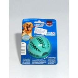 Dentafun Hračka pes Míč Baseball s mátou 65mm TR