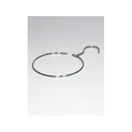 Kruh kovový s háčkem k zavěšení vodítek 12cm TR